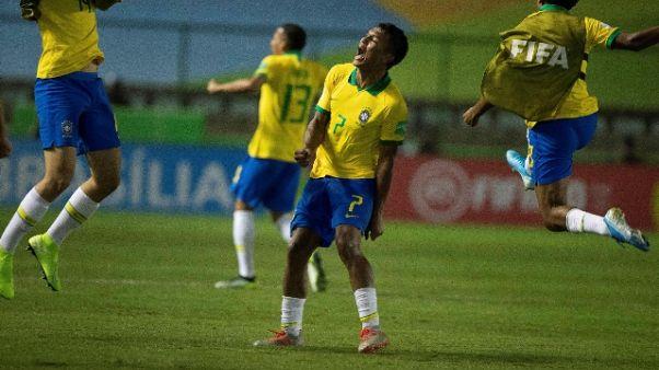 Mondiali U17, finale è Brasile-Messico