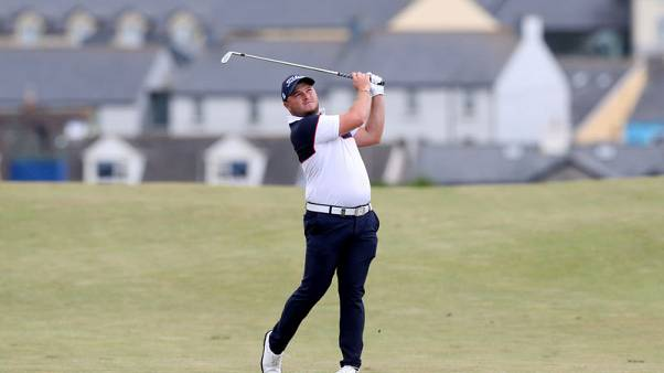 Lombard sparkles to grab second-round lead at Nedbank Challenge