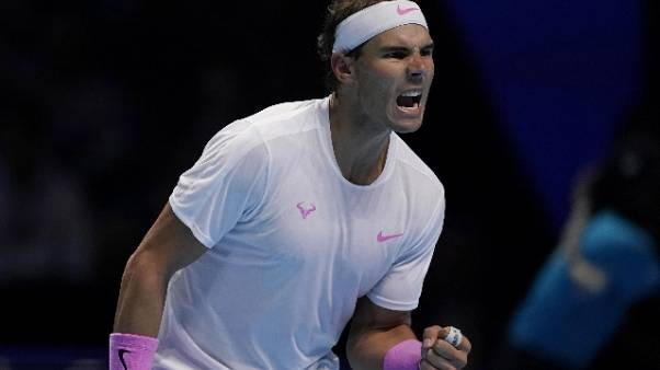 Atp Finals:Nadal vince ancora in rimonta