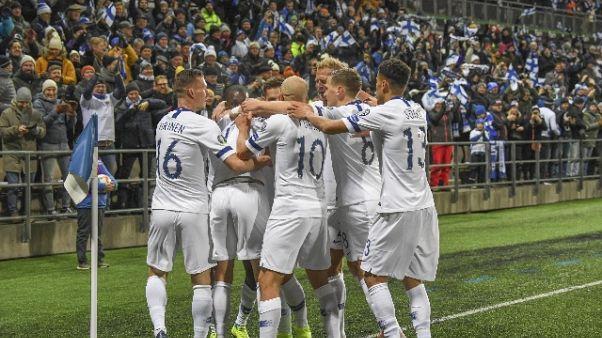 Euro 2020: Finlandia qualificata