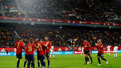 Superb Spain destroy Malta 7-0 to win group