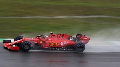 F1:Leclerc,vediamo come va senza pioggia