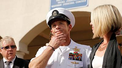 Trump pardons Army officers, restores Navy SEAL's rank in war crimes cases
