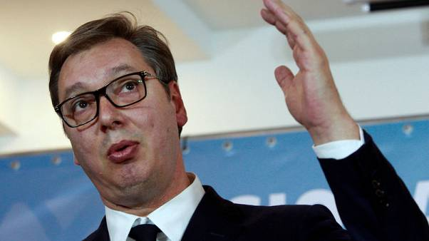Serbia's Vucic admitted to hospital with heart problems