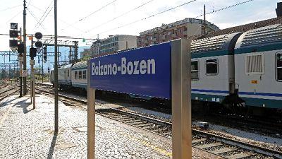 Riaperta ferrovia Brennero a Bolzano