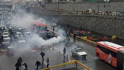 Petrol price protests turn political in Iran as rallies spread
