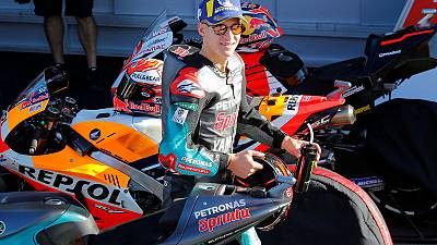 Quartararo on pole for MotoGP season ender in Valencia