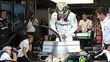 Hamilton fastest in final Brazilian GP practice