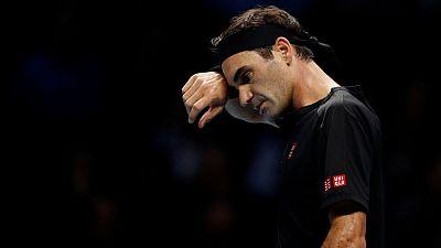 Federer rues bad start as ATP Finals hopes are dashed