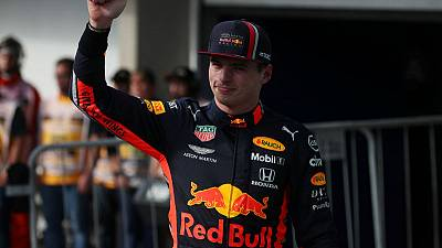 Verstappen on pole for Brazilian Grand Prix