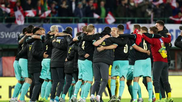 Austria beat North Macedonia to qualify for Euro 2020