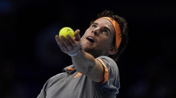 Tennis: Atp Finals, Thiem batte Zverev