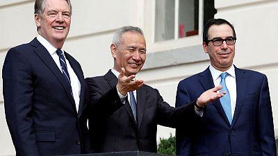 China, U.S. had 'constructive' phone call on trade - Xinhua