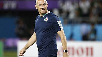 Italy coach O'Shea resigns six months before end of contract