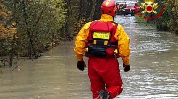 Maltempo, alcuni evacuati nel Bolognese