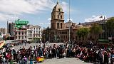 Bolivians queue for chicken and fuel as protests cripple highways