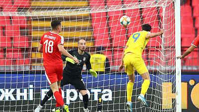 Late equaliser gives Ukraine 2-2 draw in Serbia