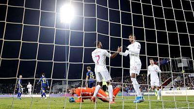 England secure Euro seeding slot with 4-0 win in Kosovo