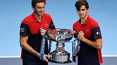 Mahut and Herbert claim ATP Finals title
