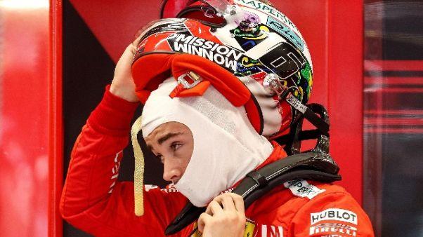 Leclerc, rapporto con Vettel invariato
