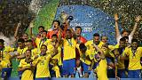 Late goals give Brazil under-17 World Cup title