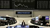 European shares extend winning streak; Qiagen jumps as company explores sale