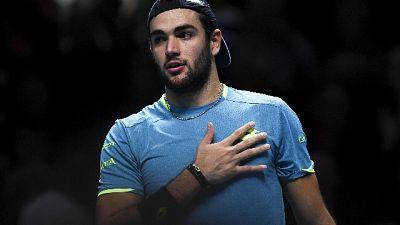 Tennis: Berrettini chiude anno da 8/o