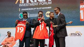 """Africa Investment Forum 2019: Masai Ujiri urges African leaders to invest in sports, commissions two new """"players"""""""