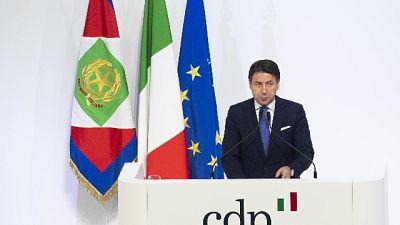 Conte, Cdp esempio Italia che investe