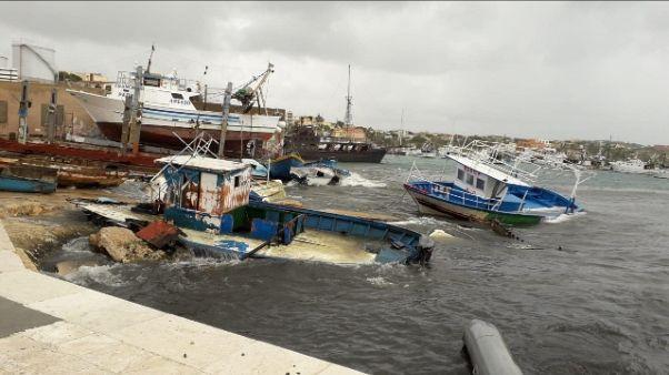 Affonda barca Lampedusa, allarme gasolio