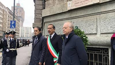 A Milano targa per Annarumma