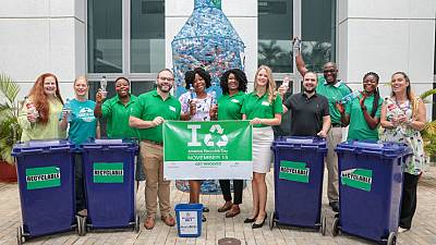 Embassy Abuja participates in America Recycles Day National Campaign