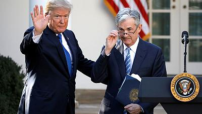 Trump says 'cordial' talk with Fed's Powell covered negative interest rates, trade