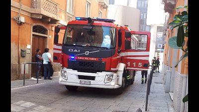 Piogge in Sardegna, crolla tetto casa