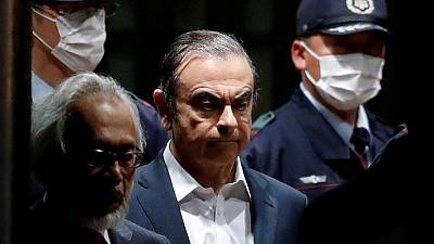A year after arrest, Ghosn seeks trial date, access to evidence