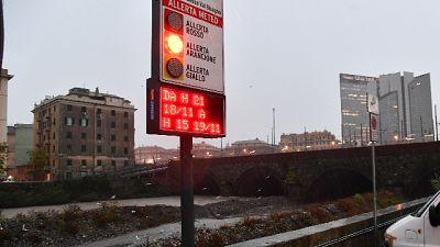 Pioggia in Liguria, nel Savonese 1m neve