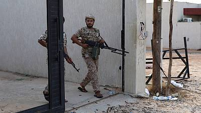 East Libyan forces target munitions in Misrata with air strikes