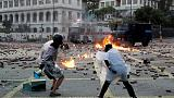'Fire magicians' and medieval weaponry: a Hong Kong university under siege
