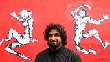 With Last Dance of the Dead, Yemeni artist paints message for France