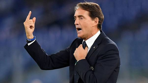 Mancini spoilt for choice as record-breaking Italy head to Euros