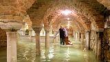 Venice's historic Saint Mark's Basilica faces costly flood clean-up