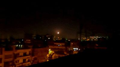 Israel launches air strikes in Syria, Damascus says two killed