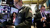 Shares slide on U.S.-China spat over Hong Kong, dollar gains