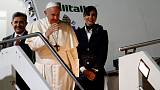 High-tech Japan uses AI in song to welcome pope