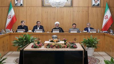 Iran's Rouhani claims victory over unrest and blames foreigners