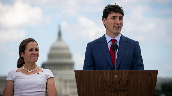 Canada's Trudeau to shuffle cabinet, foreign minister set for big new role