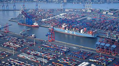 German exports stabilised, but trade risks remain - finance ministry