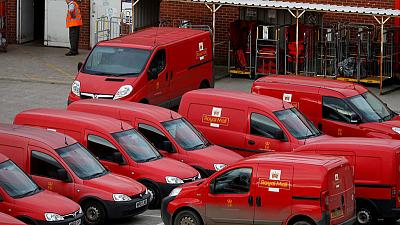 Royal Mail falls behind on turnaround plan; posts first half profit