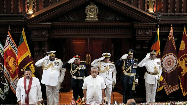 Sri Lanka's ruling siblings - New president swears in his brother as PM