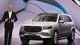Daimler brings SUV to luxury Maybach brand's portfolio